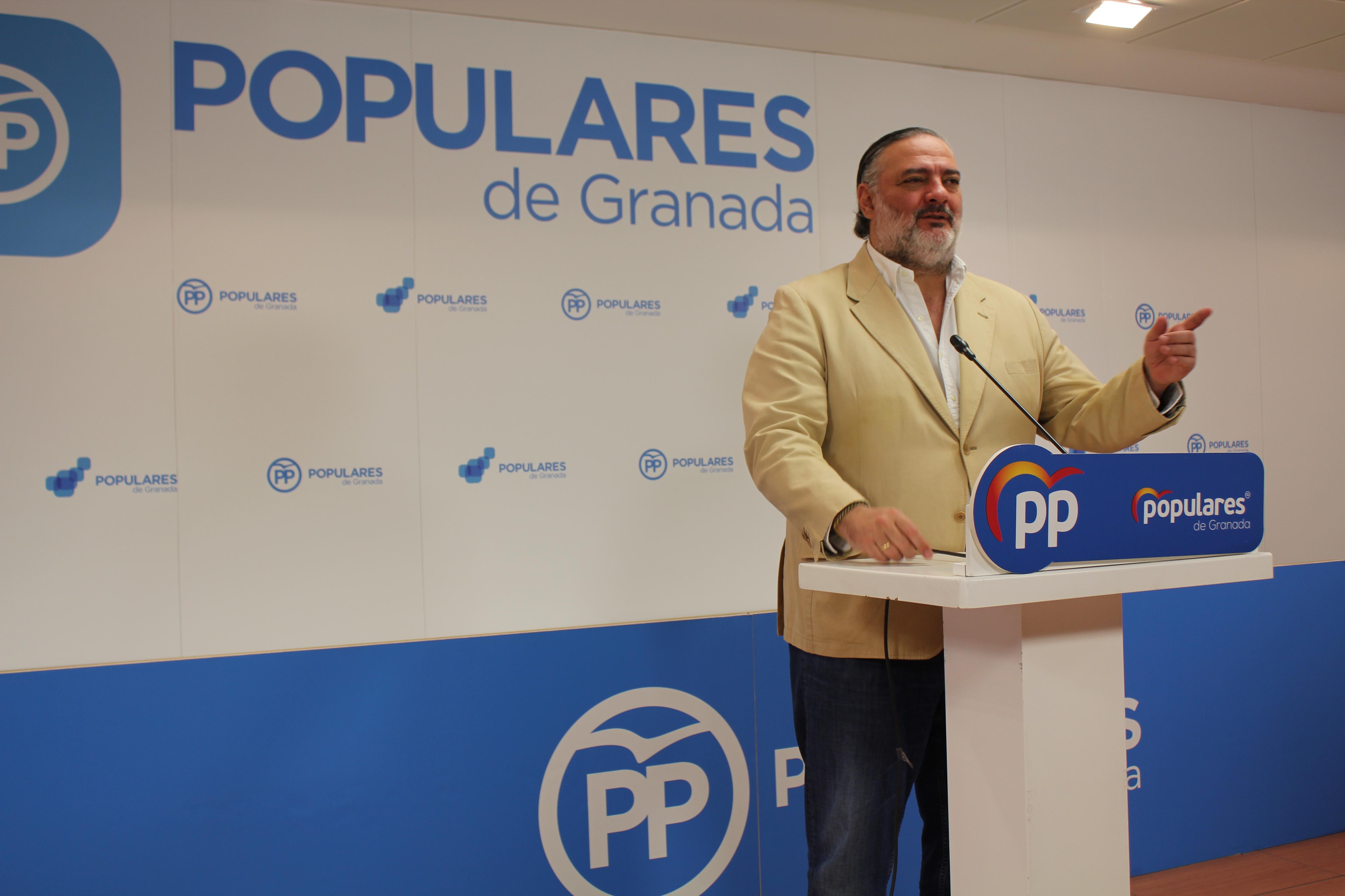 Pablo García critica que Sánchez y la izquierda radical echen el freno a Granada dejándola en la Fase 1