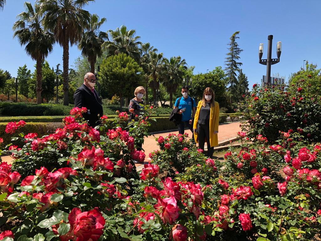 Granada abrirá cuatro parques desde el lunes
