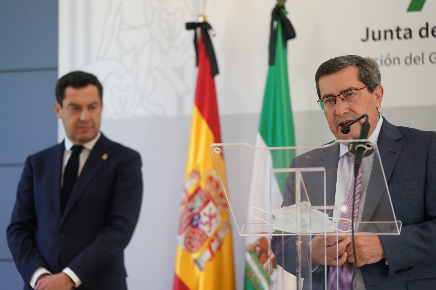 Entrena pide al presidente de la Junta un plan de empleo para amortiguar los efectos de la crisis sanitaria en la provincia