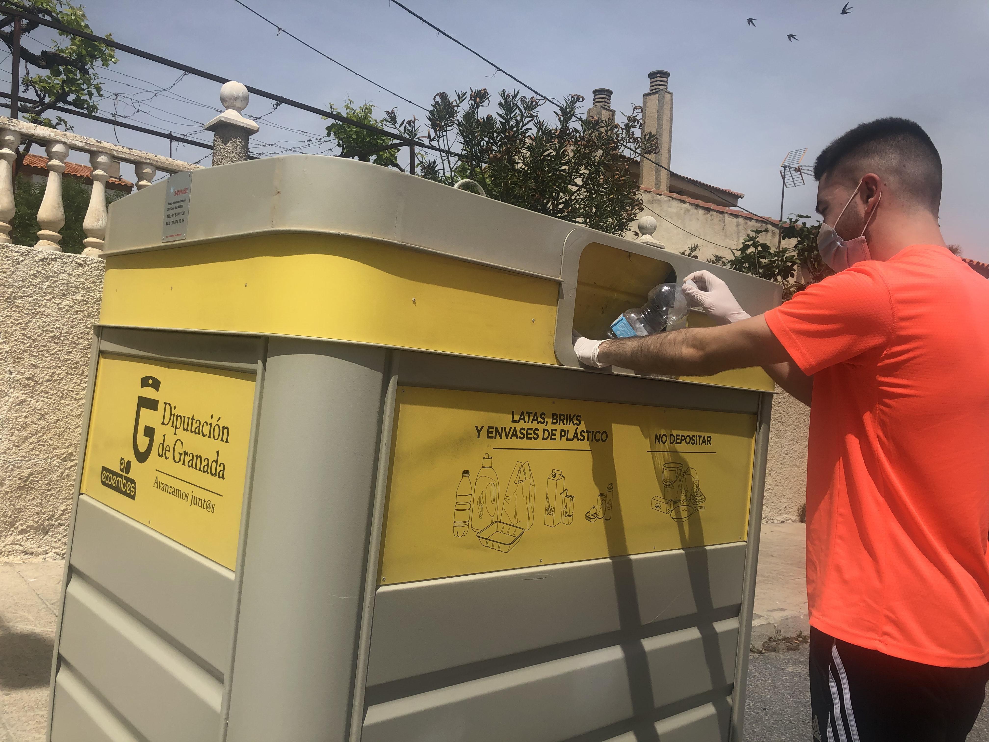 Aumenta el reciclaje de plástico y cartón en la provincia