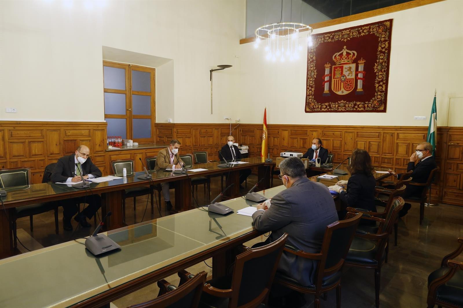 Operadores jurídicos preparan la reactivación del sistema de Justicia en Granada