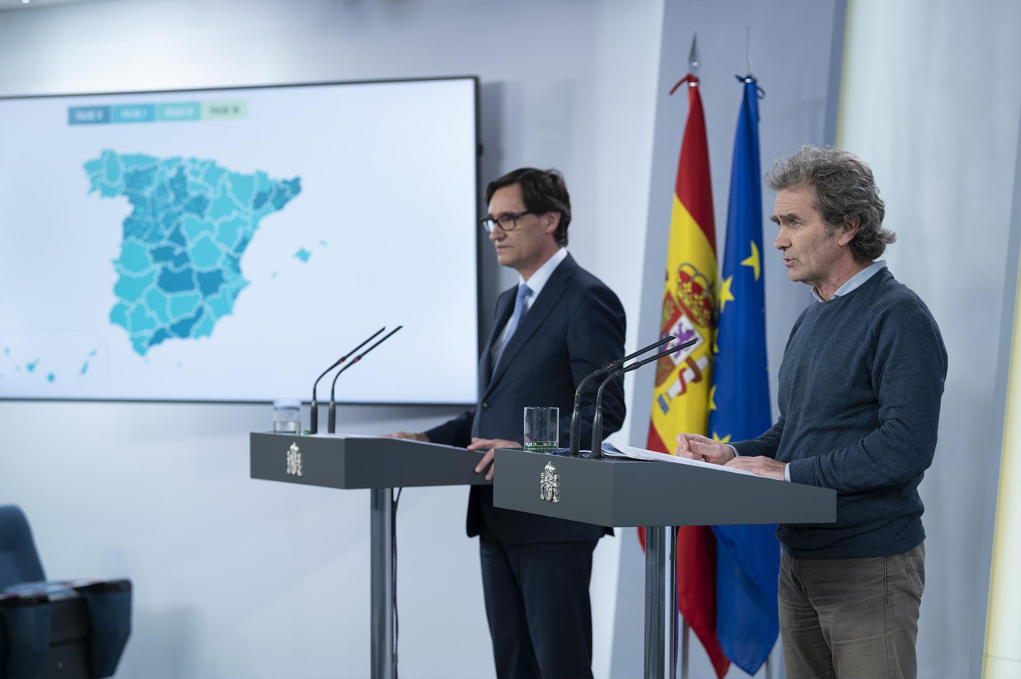 Sanidad autoriza el pase desde el lunes a la Fase I de las provincias de Granada y Málaga