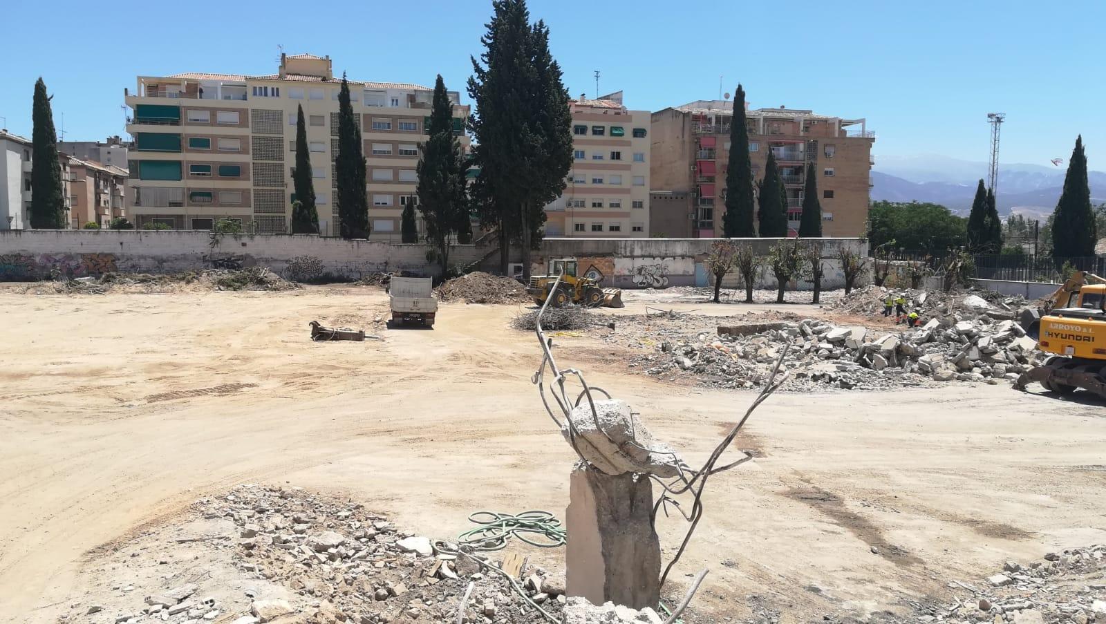 Acuerdo para edificar en la zona del antiguo Cuartel de Automovilismo