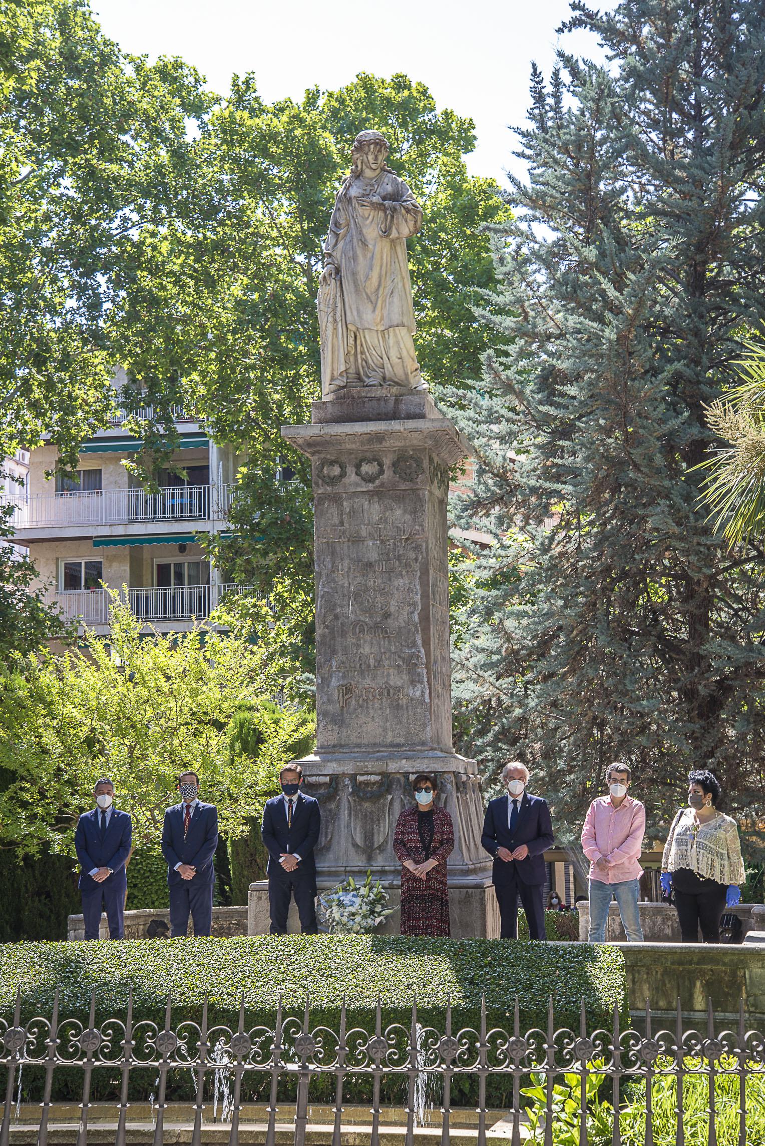 Granada homenaje a Mariana Pineda en el 189 aniversario de su ejecución
