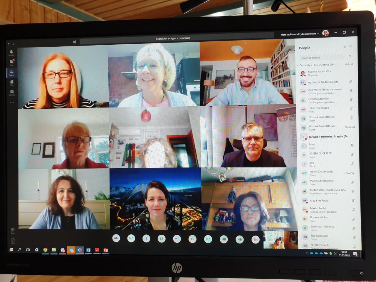 Encuentro virtual para promover el emprendimiento en el marco de la Unión Europea