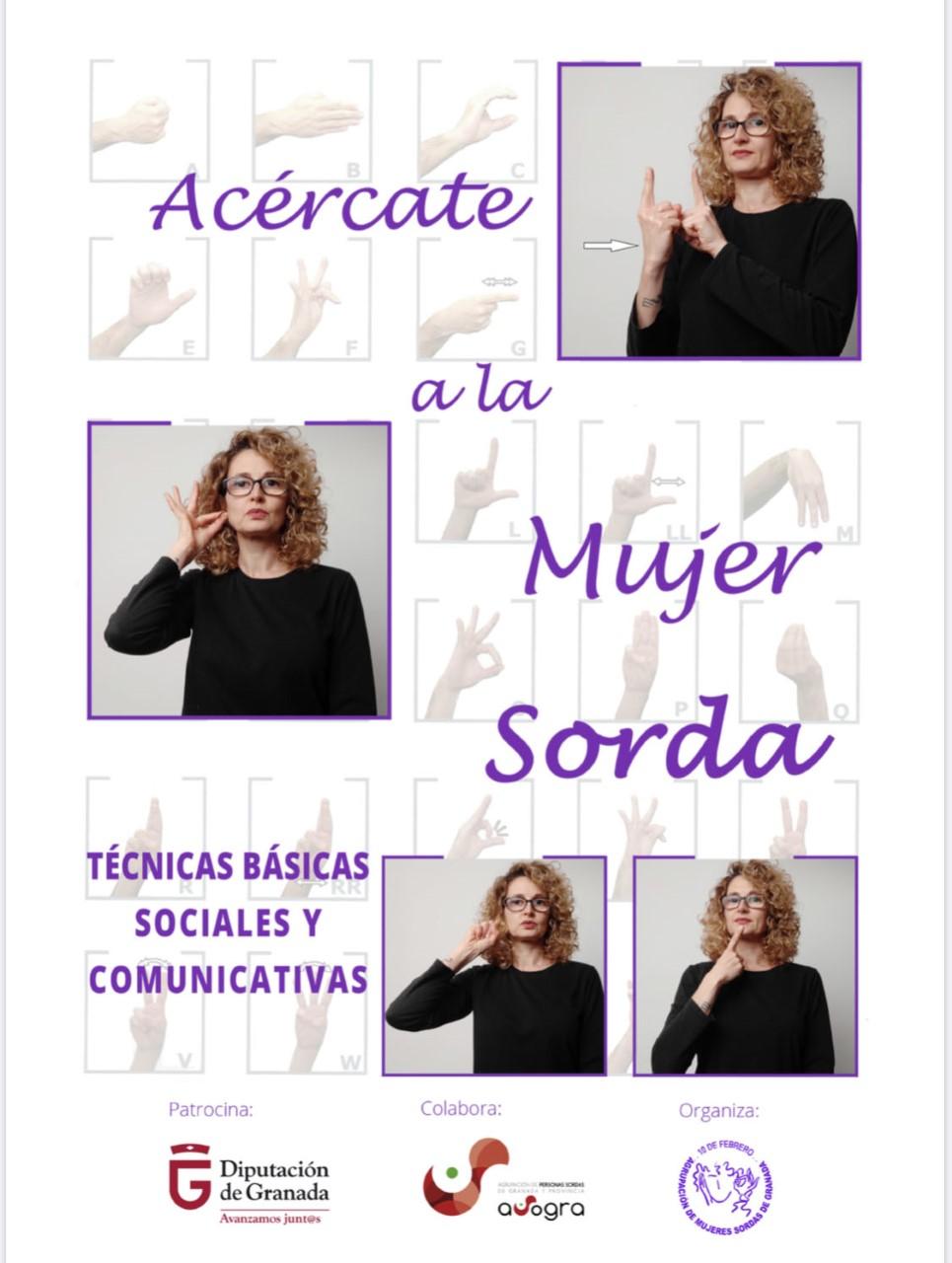 Curso de lengua de signos para atender a mujeres sordas que sufren violencia de género