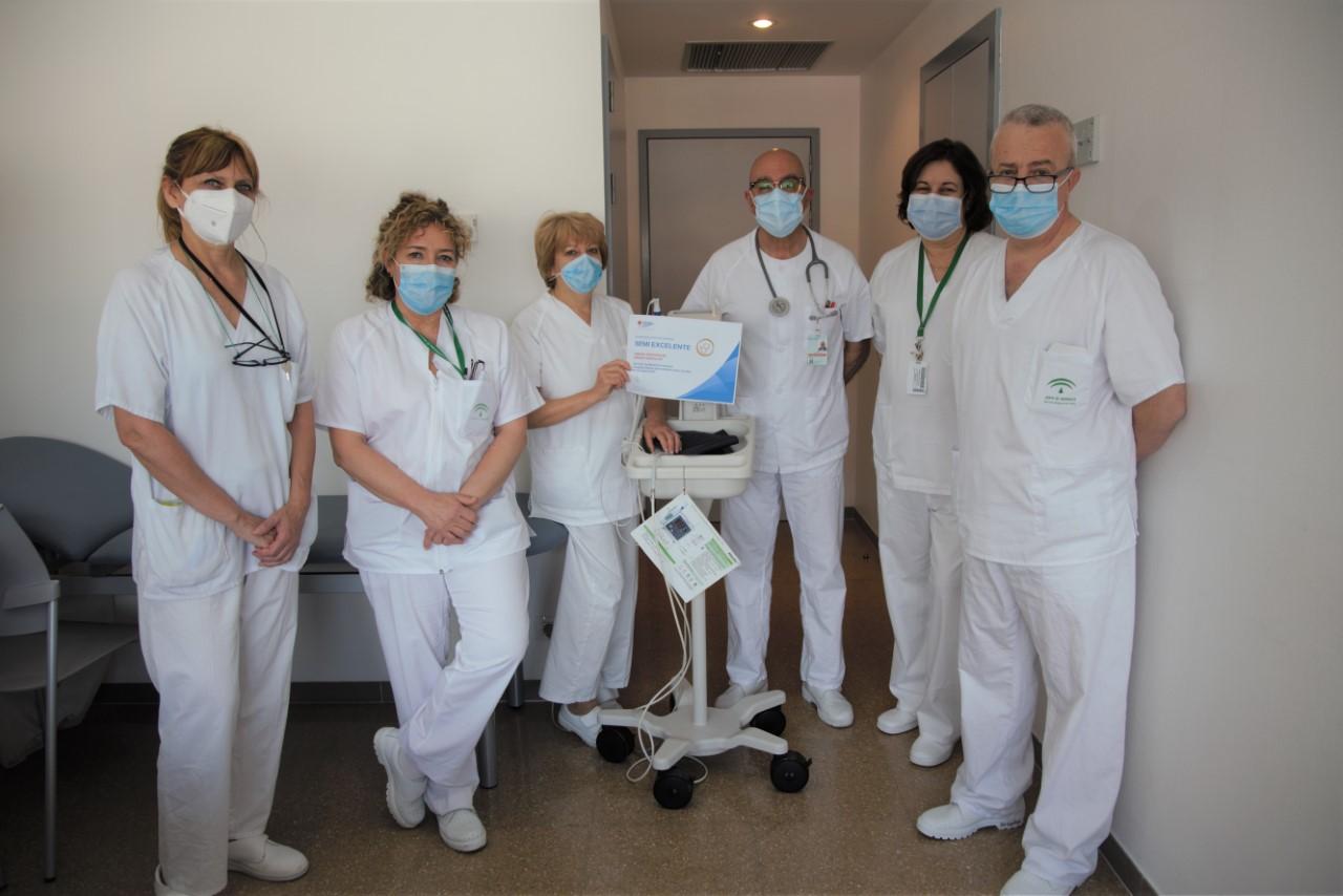 La Unidad de Riesgo Vascular del Hospital Clínico San Cecilio recibe la acreditación 'Excelente' de la Sociedad Española de Medicina Interna