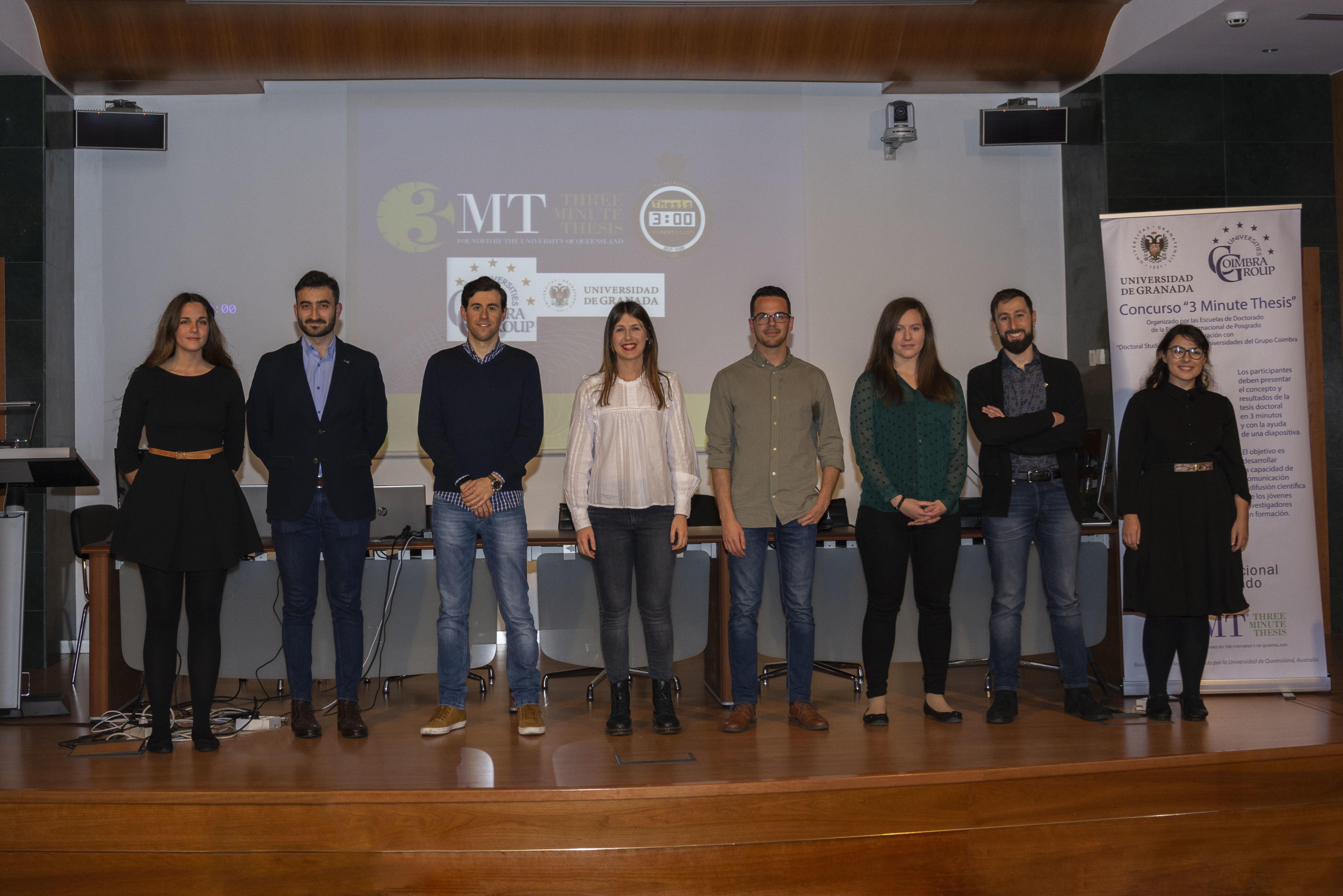 La UGR celebra de manera virtual la final del concurso '3 Minute Thesis', en el que participan 8 doctorandos