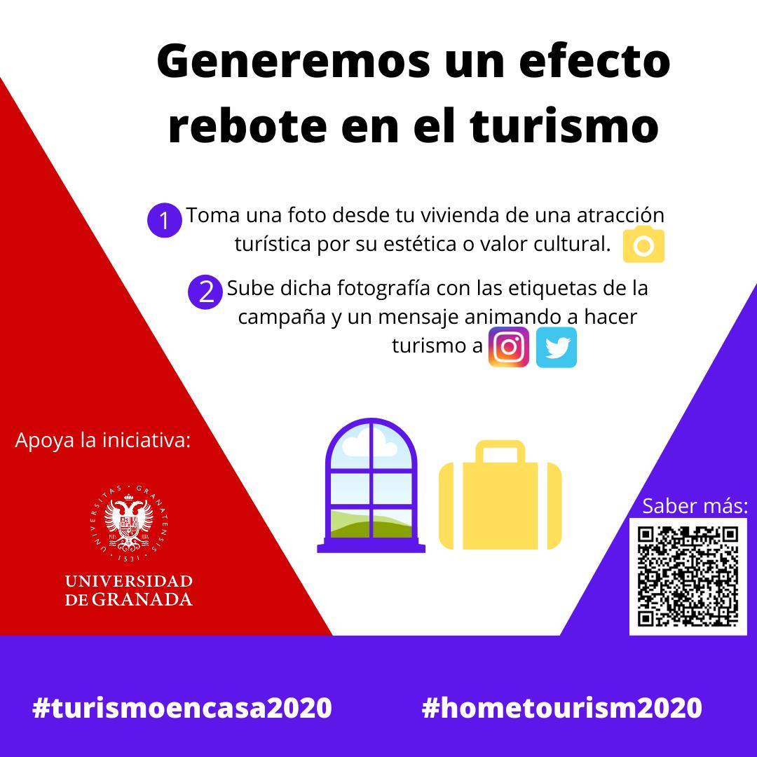 La UGR se suma a la iniciativa #turismoencasa2020, cuyo objetivo es mantener el interés del turista por viajar