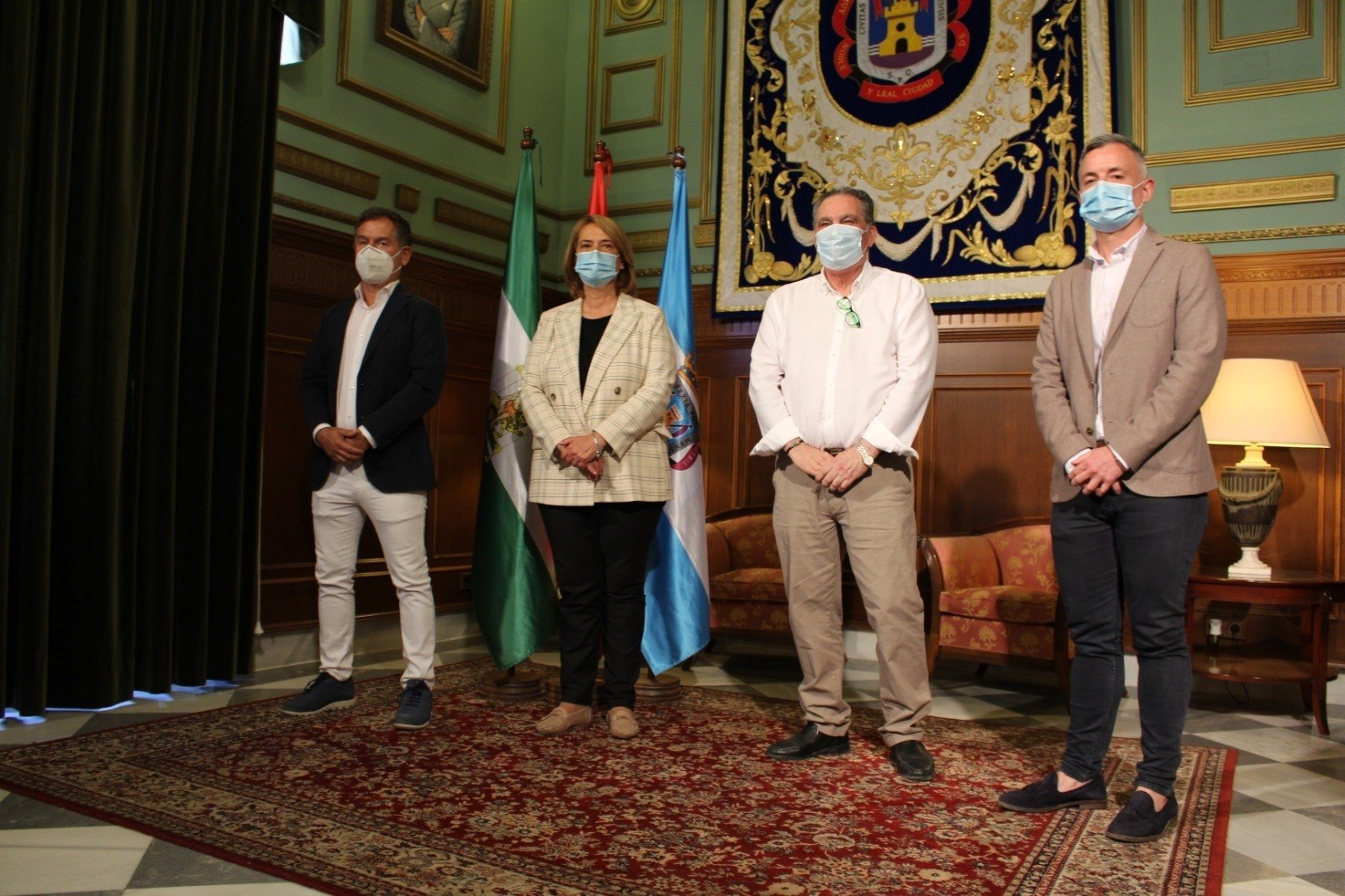 La alcaldesa de Motril se congratula de presidir un gobierno «cohesionado» tras el primer año de mandato