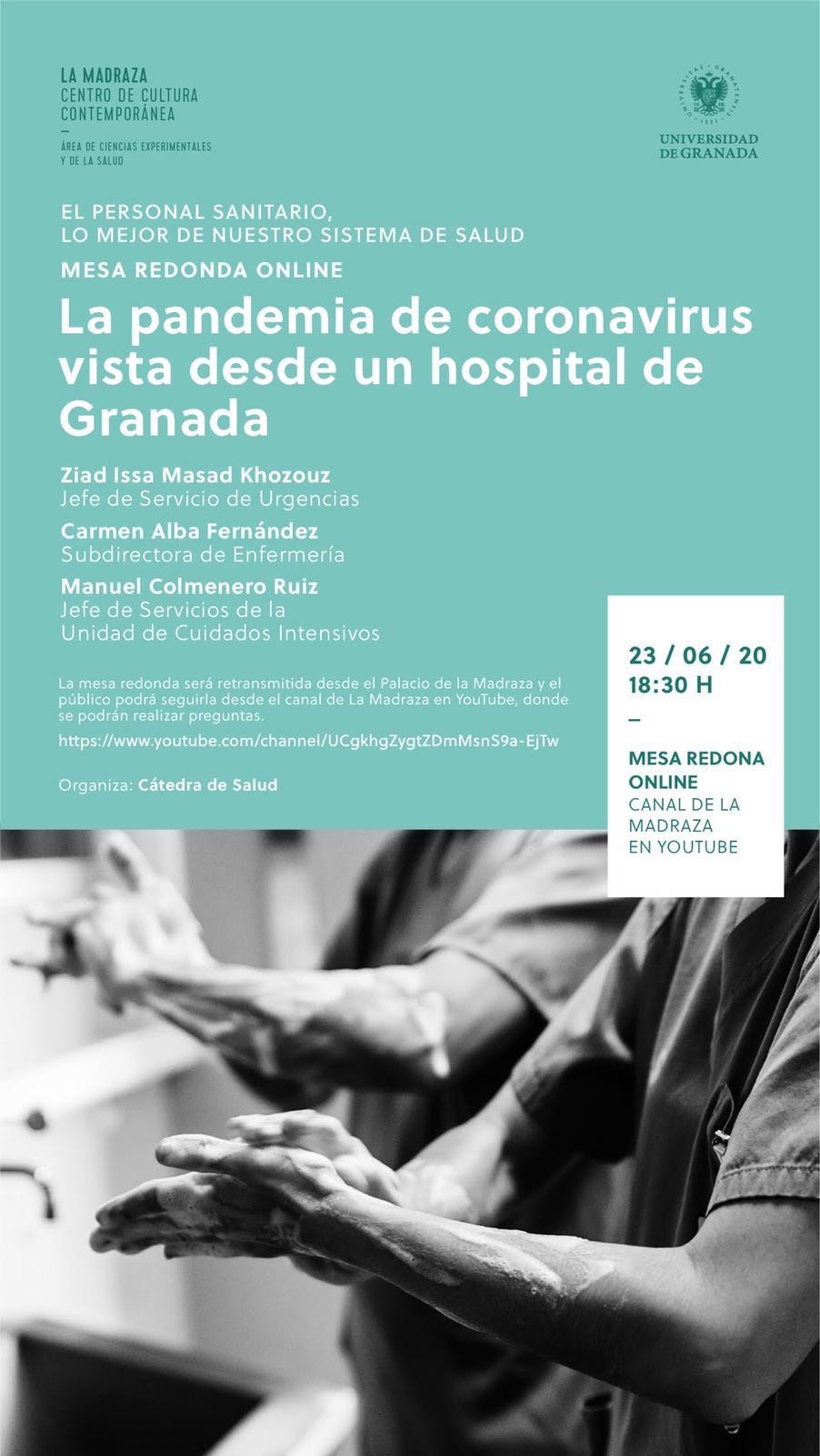 La Universidad de Granada rinde homenaje al excepcional trabajo del personal sanitario durante la pandemia