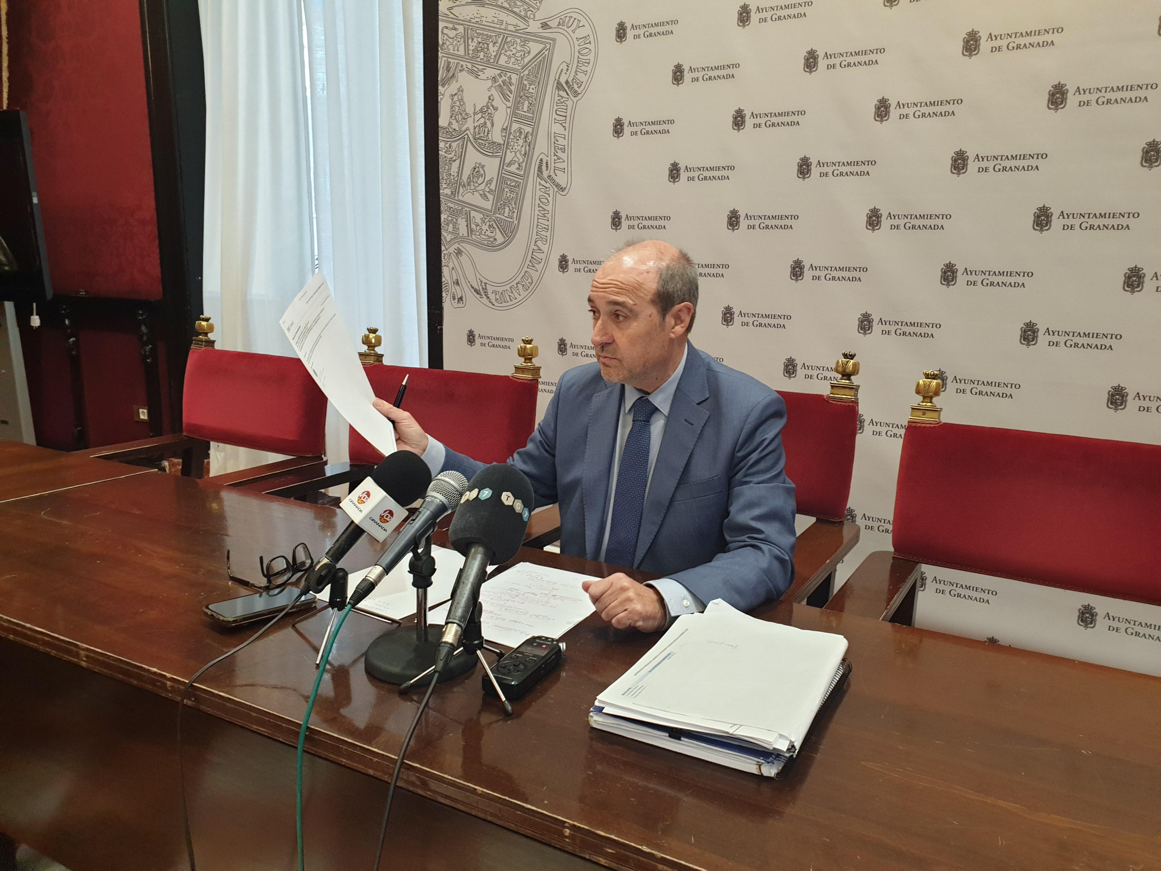 El PSOE propone retirar las competencias sobre TG7 al alcalde por el «uso personalista» que hace