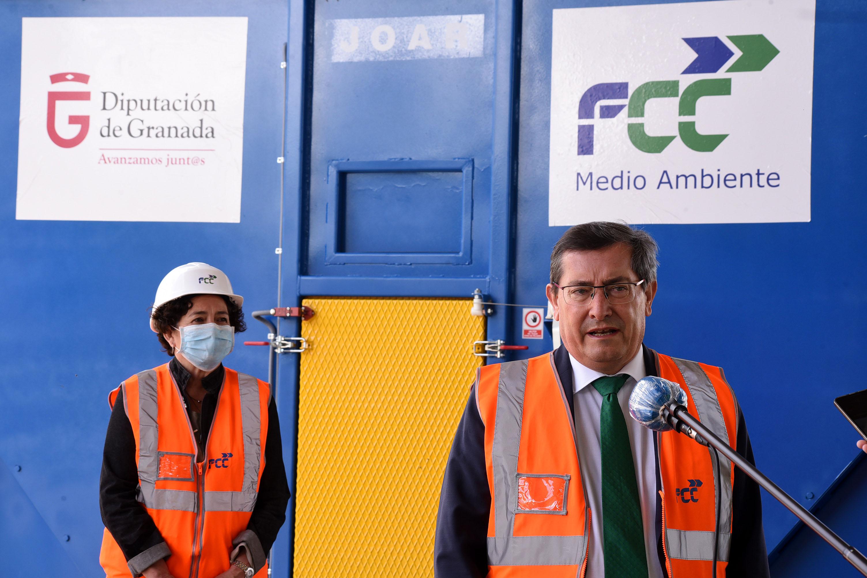 Diputación pone en marcha un sistema innovador de reciclaje de plásticos más eficiente