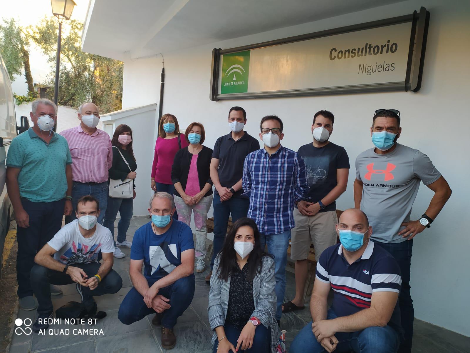 Alcaldes del PSOE de la comarca del Valle de Lecrín denuncian los recortes en sanidad y transporte