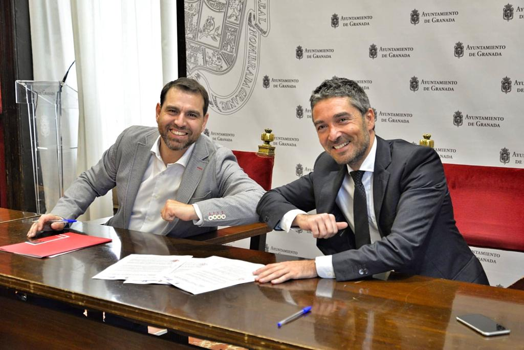 Ayuntamiento y Cámara de Comercio firman un acuerdo para el fomento del empleo