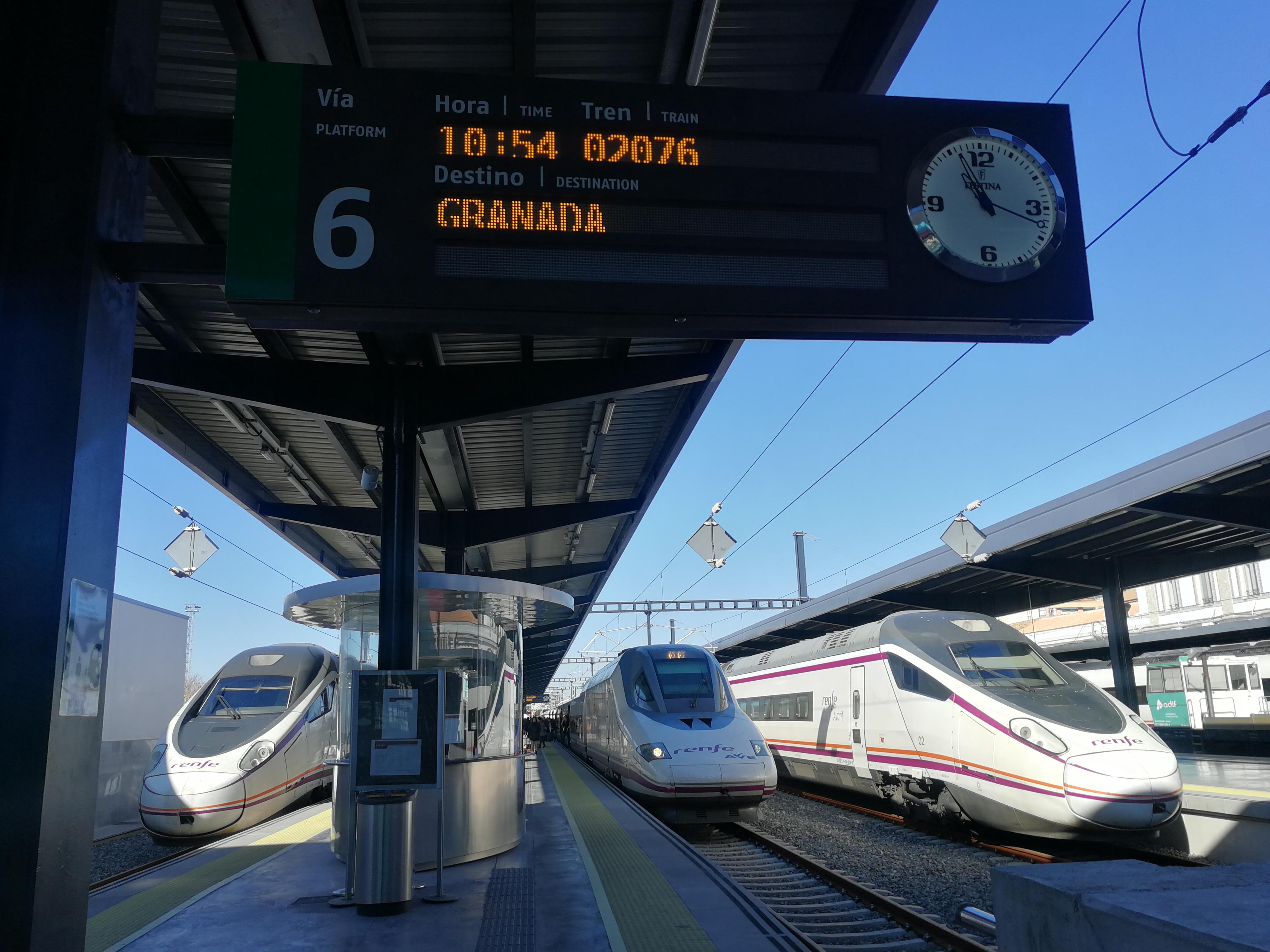 Comunicado conjunto de la Plataforma Provincial Granada por el Tren y Mercagranada S.A.