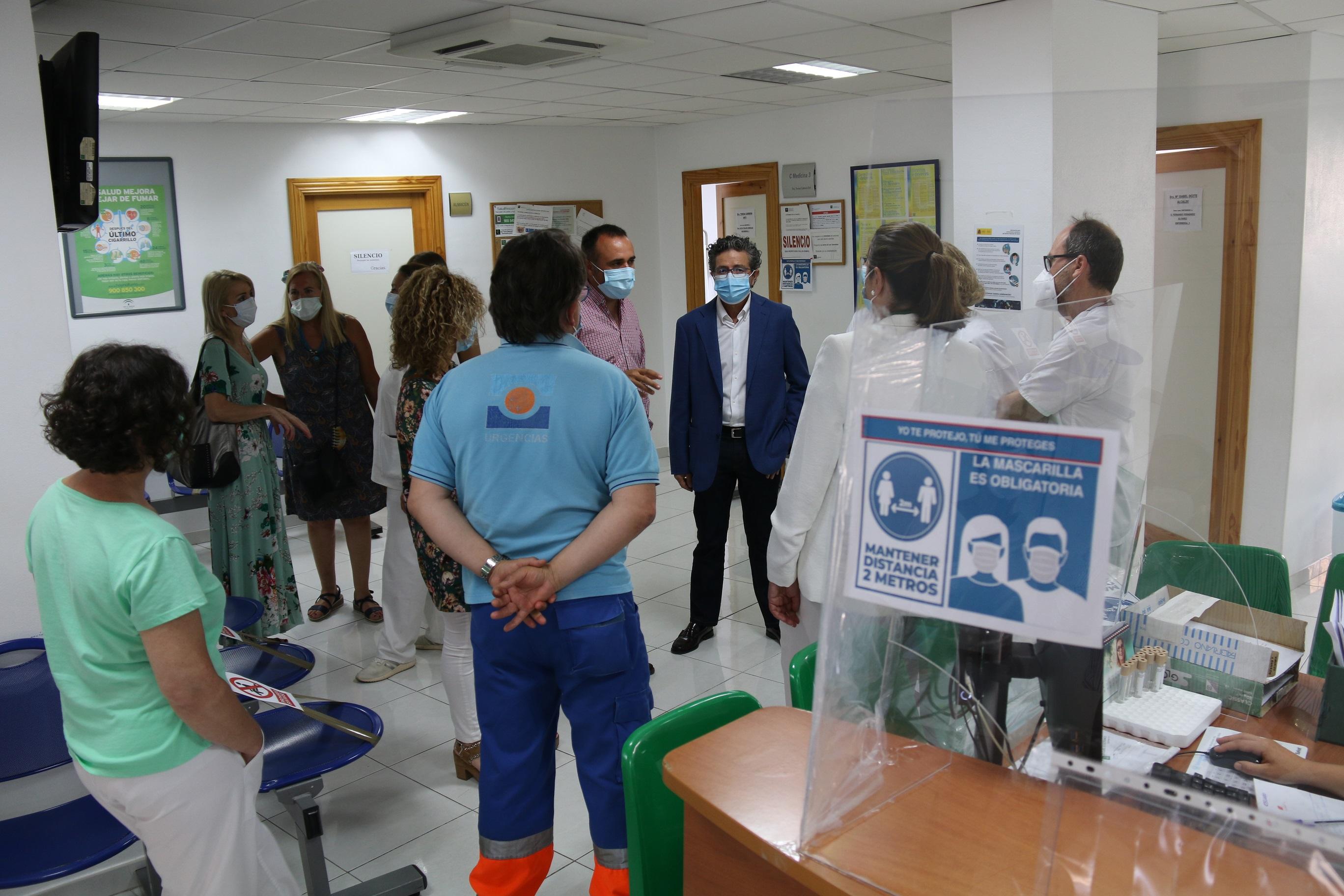 Alhendín ampliará su centro de salud y separará pediatría y matrona de las consultas generales