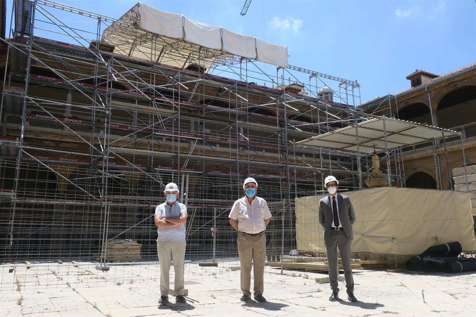 La Orden de San Juan de Dios inicia la restauración de su casa fundacional