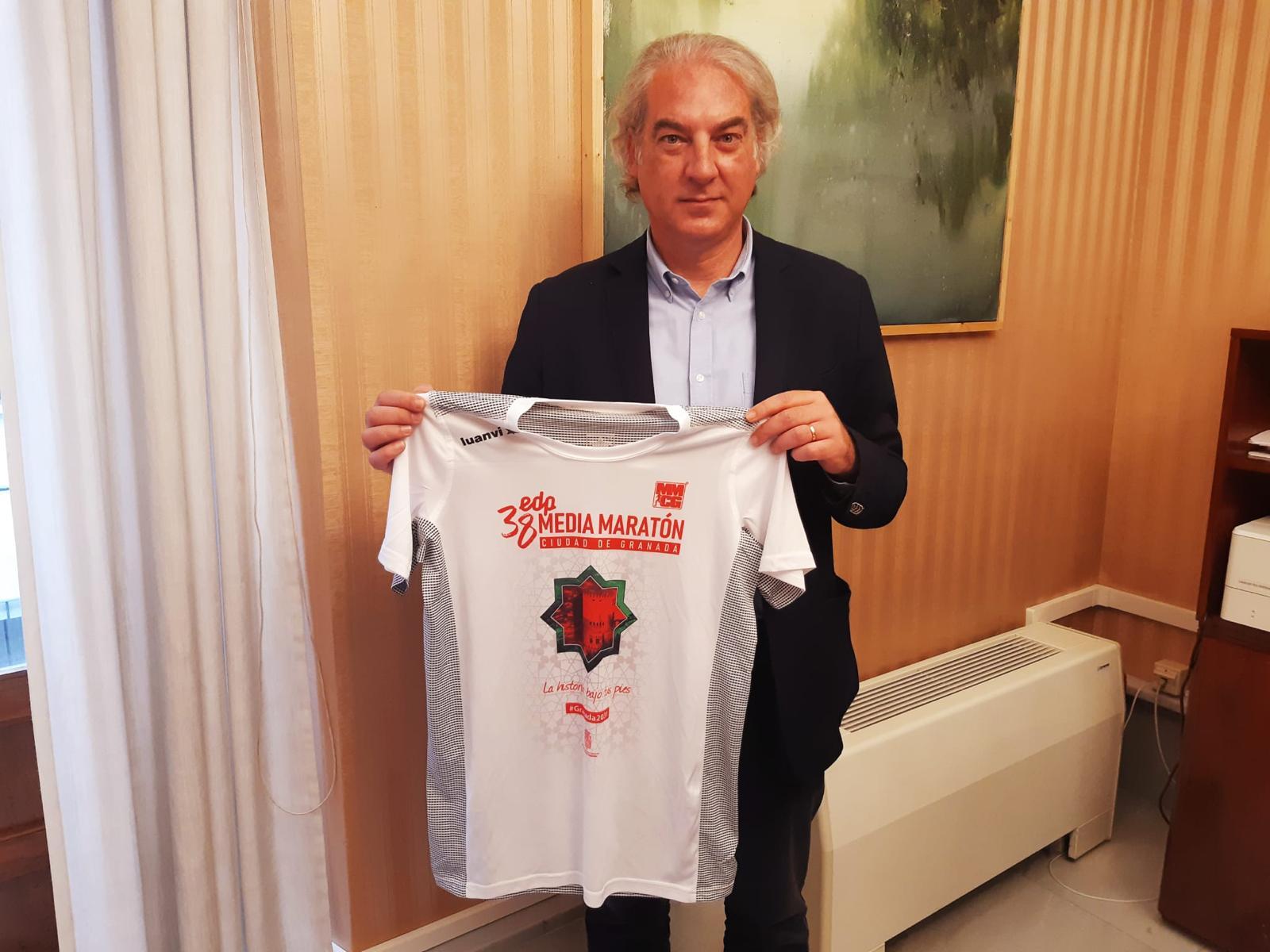 El Ayuntamiento regalará l camiseta a los inscritos en la media maratón de 2021
