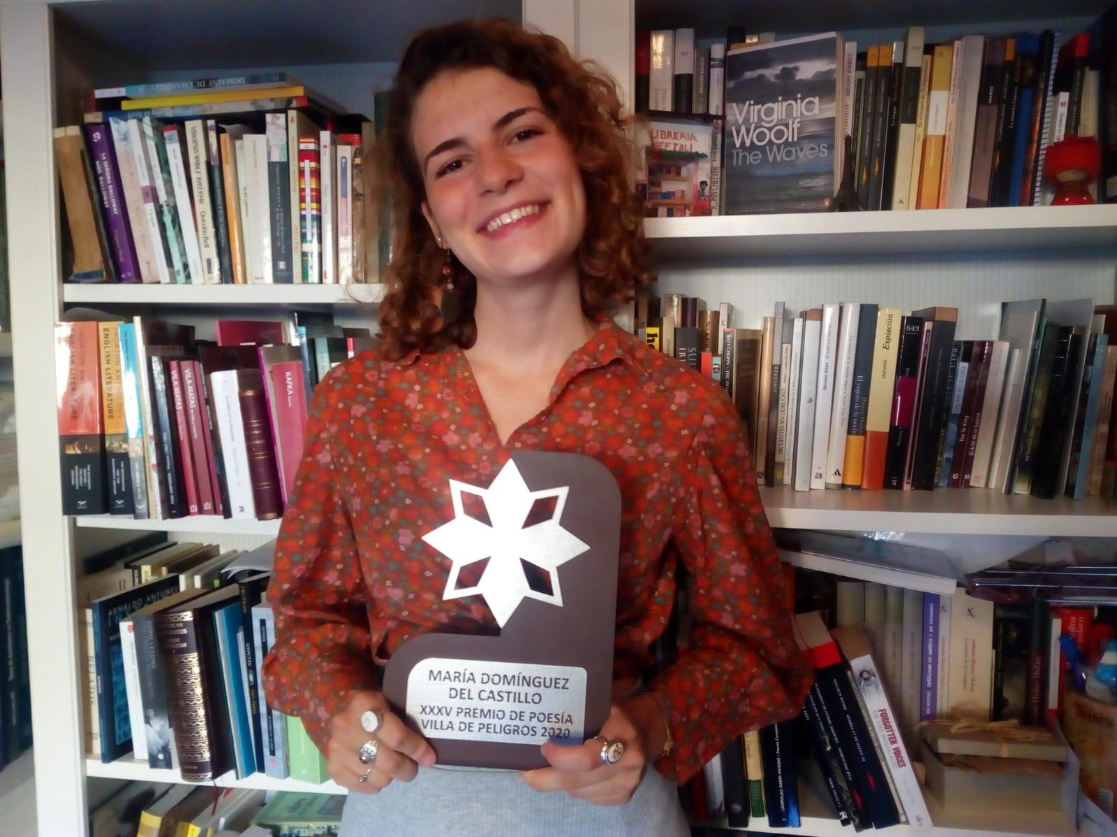 María Domínguez del Castillo gana la trigésimo quinta edición del Certamen Andaluz de Poesía 'Villa de Peligros'