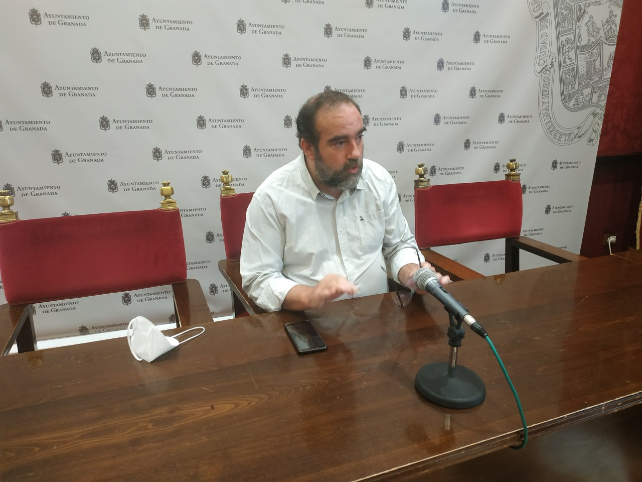 Podemos-IU exige al Ayuntamiento la redacción del proyecto de la tercera fase de las obras de Santa Adela
