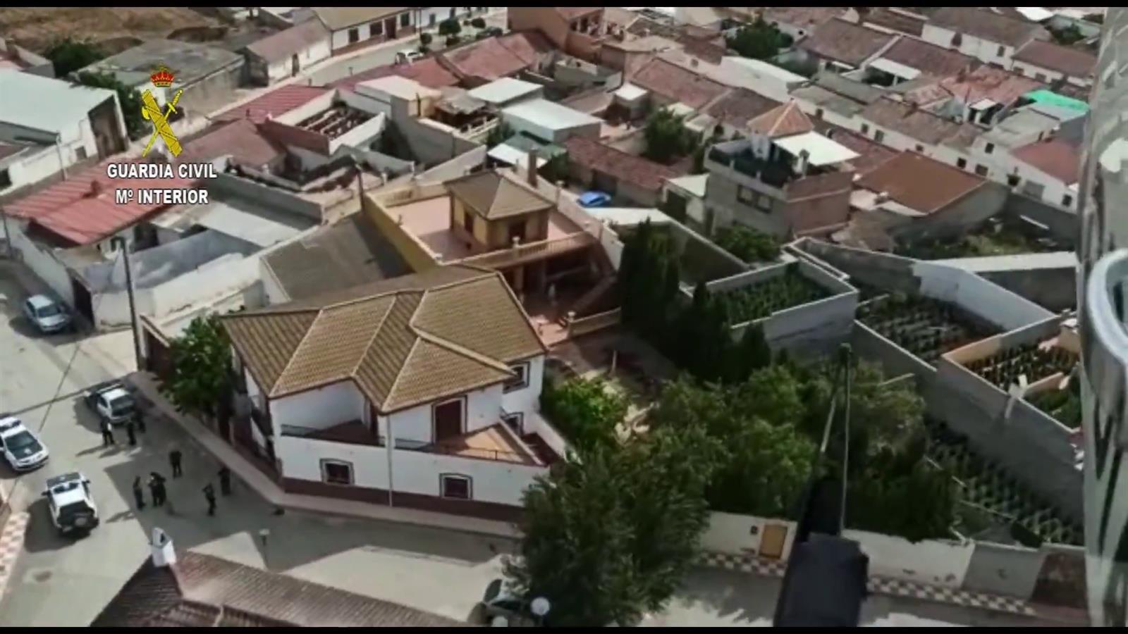 Encuentran 2.700 plantas de marihuana en 14 viviendas de Escóznar
