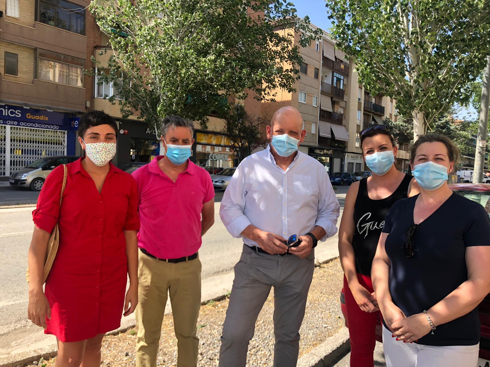 El PSOE de Guadix lamenta que la Junta haya reducido la inversión para la remodelación de la Avenida Buenos Aires