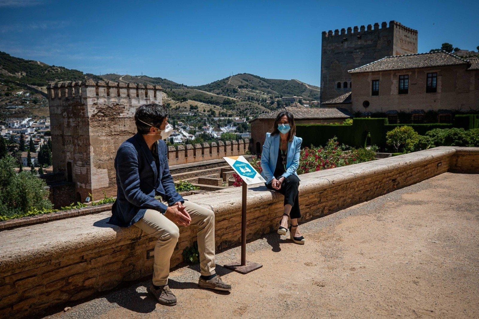 La Alhambra ha realizado una veintena de actuaciones durante la pandemia