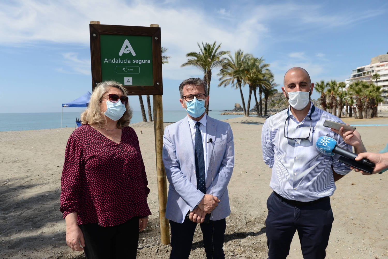 La Junta promociona la costa de Granada como destino seguro y de calidad