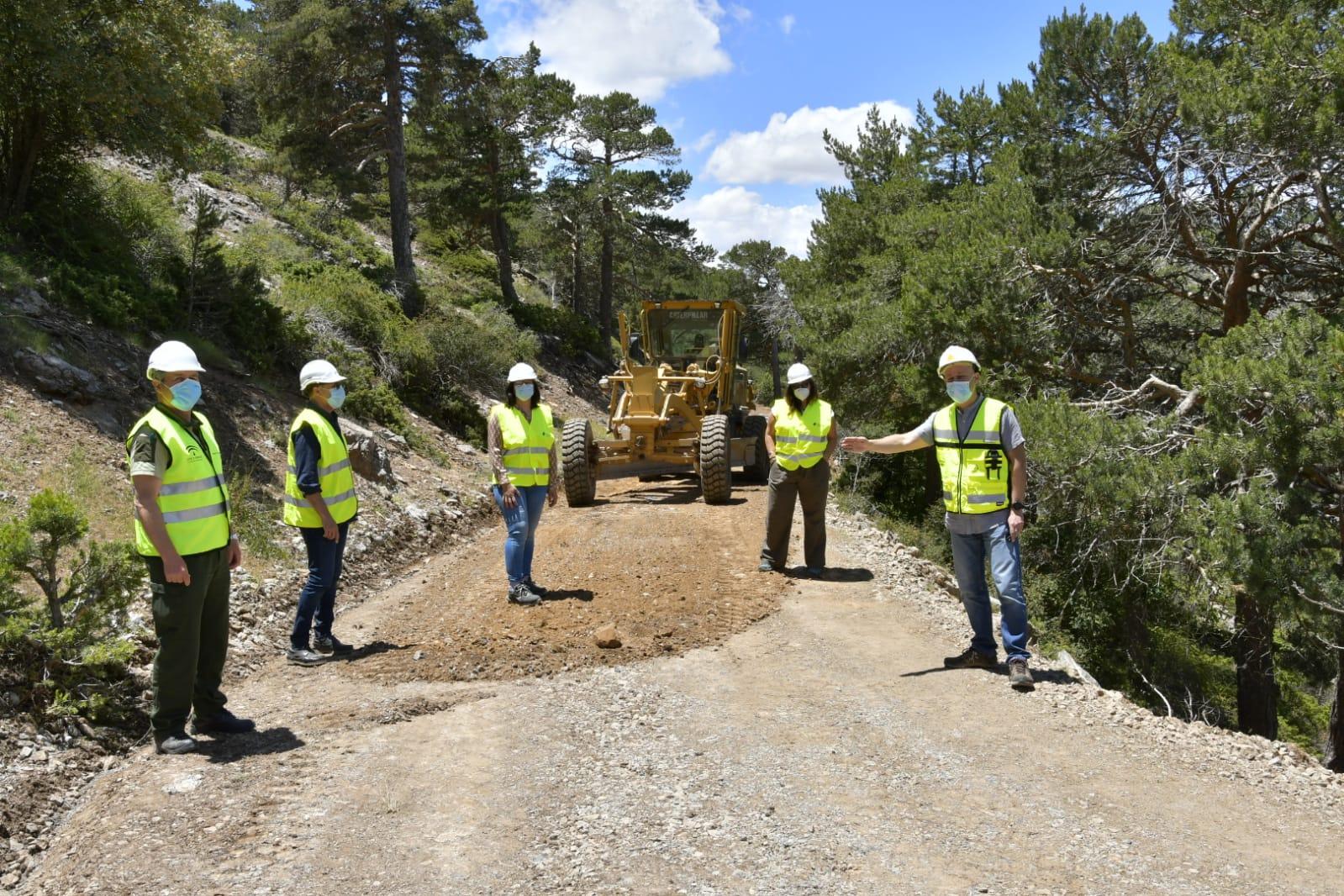 La Junta ejecuta obras y arreglos en caminos forestales de la provincia por valor de 750.000 euros