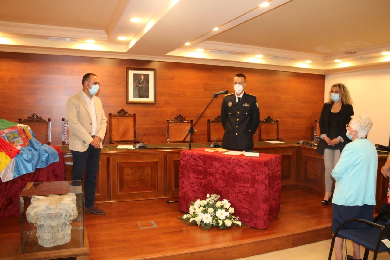 Alhendín nombra a su nuevo jefe de la Policía Local