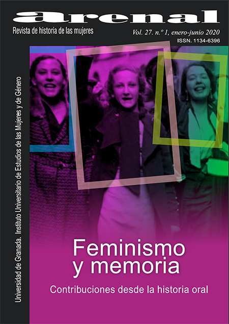 """Arenal, Revista de Historia de las Mujeres editada por la UGR dedica un monográfico a """"Feminismos y memoria. Contribuciones desde la Historia oral"""""""