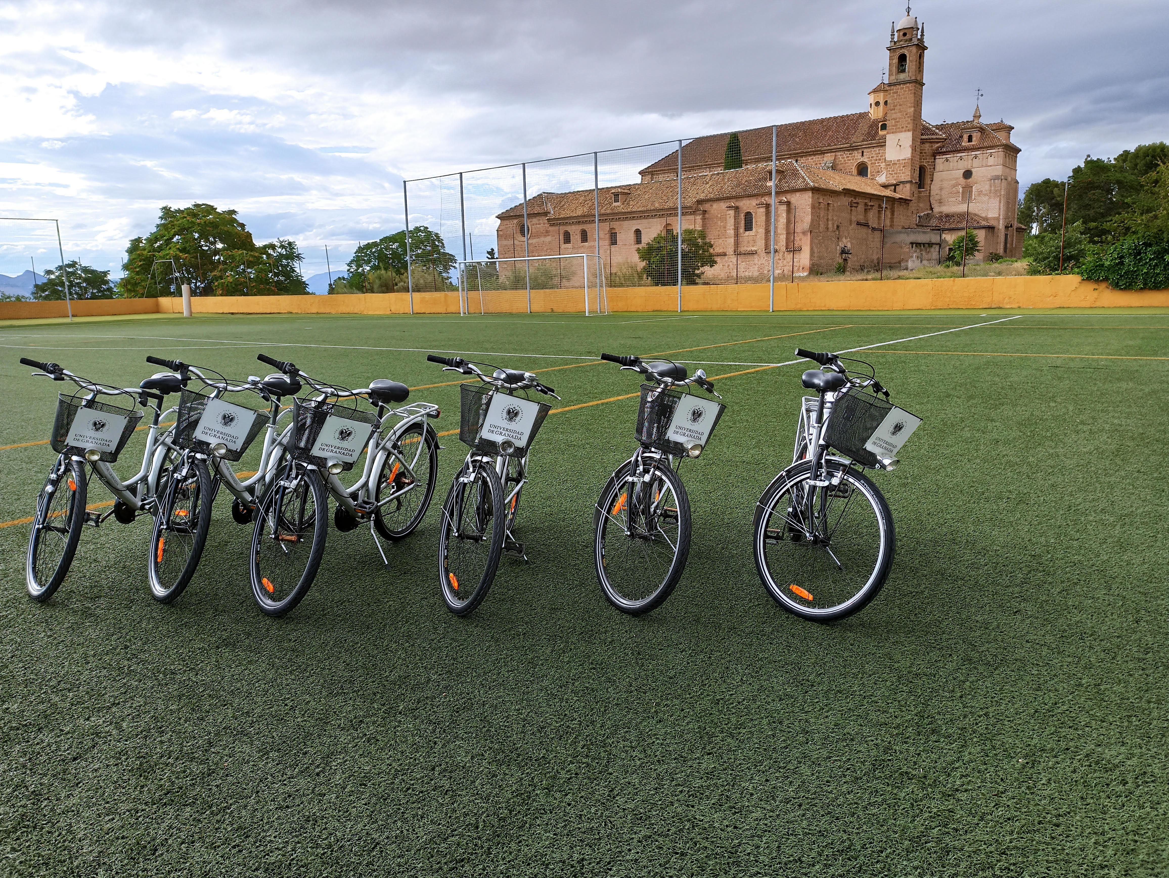 La UGR crea un sistema de cesión de bicicletas para la comunidad universitaria