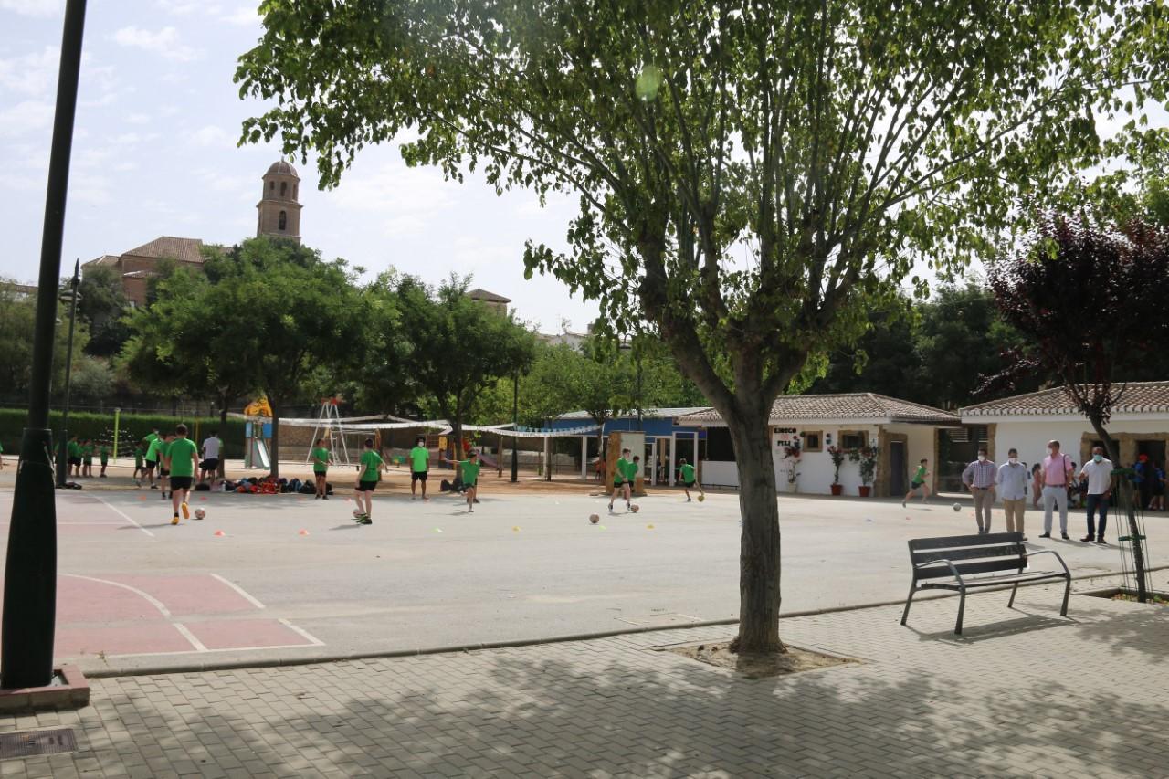 Alhendín abre su campus de verano a 150 niños con las máximas garantías de seguridad e higiene
