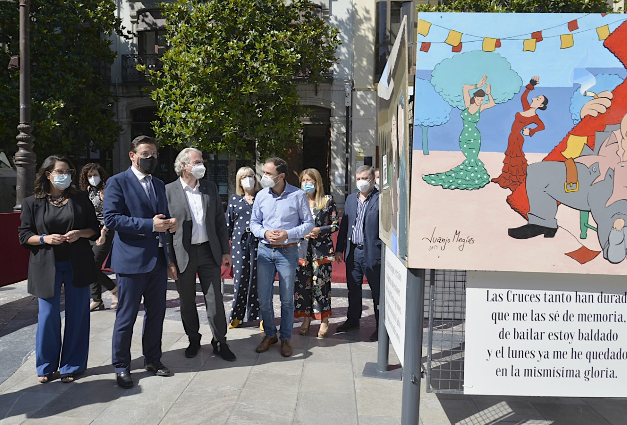 El Corpus se inicia con una exposición de carocas históricas, desde los años 90 hasta 2013