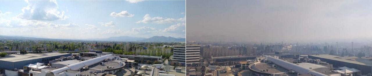 Diversas asociaciones piden que las administraciones granadinas actúen ante la contaminación en Granada