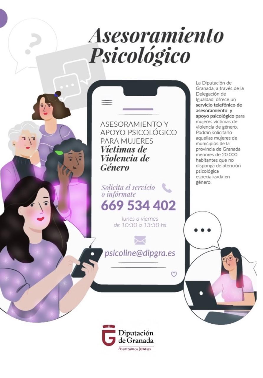 Diputación pone en marcha un nuevo servicio de apoyo a víctimas de violencia de género en la provincia