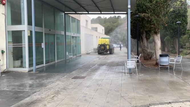 Diputación concluye la desinfección en 139 ayuntamientos y 14 centros sociales de la provincia