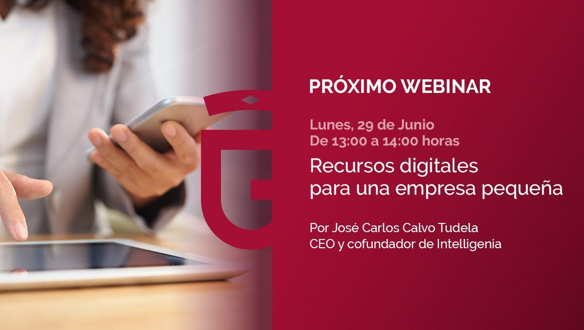 El portal de emprendedores de Diputación lanza su primer webinar sobre necesidades de las empresas para su digitalización