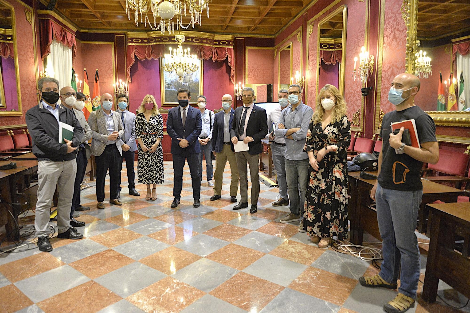 El Ayuntamiento ofrece asistencia técnica al área metropolitana para avanzar en movilidad