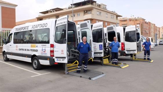 Diputación y Fegradi acuerdan colaborar en el transporte adaptado para personas con discapacidad en riesgo de exclusión