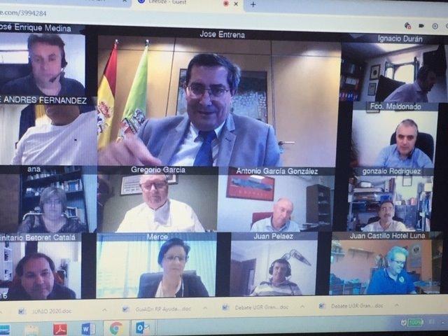Diputación analiza estrategias de promoción en materia de comercio y turismo