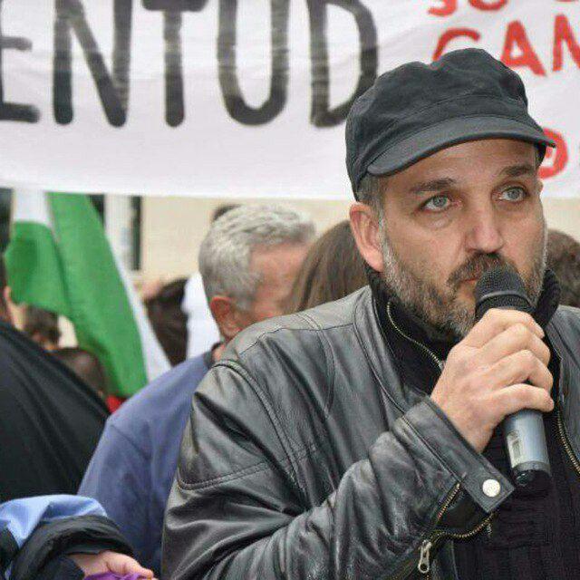 Jesús de Manuel en la candidatura de Martina Velarde a la dirección de Podemos Andalucía
