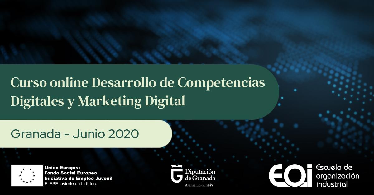 La Diputación y la EOI ofrecen un curso online sobre competencias digitales y marketing para pymes