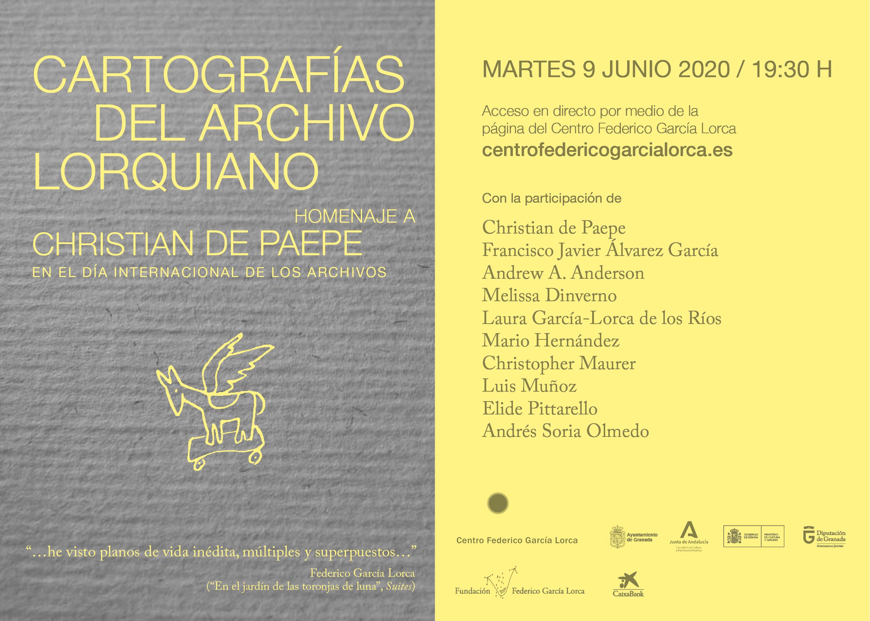 Homenaje al archivero y filólogo lorquiano Christian de Paepe en el Centro Lorca