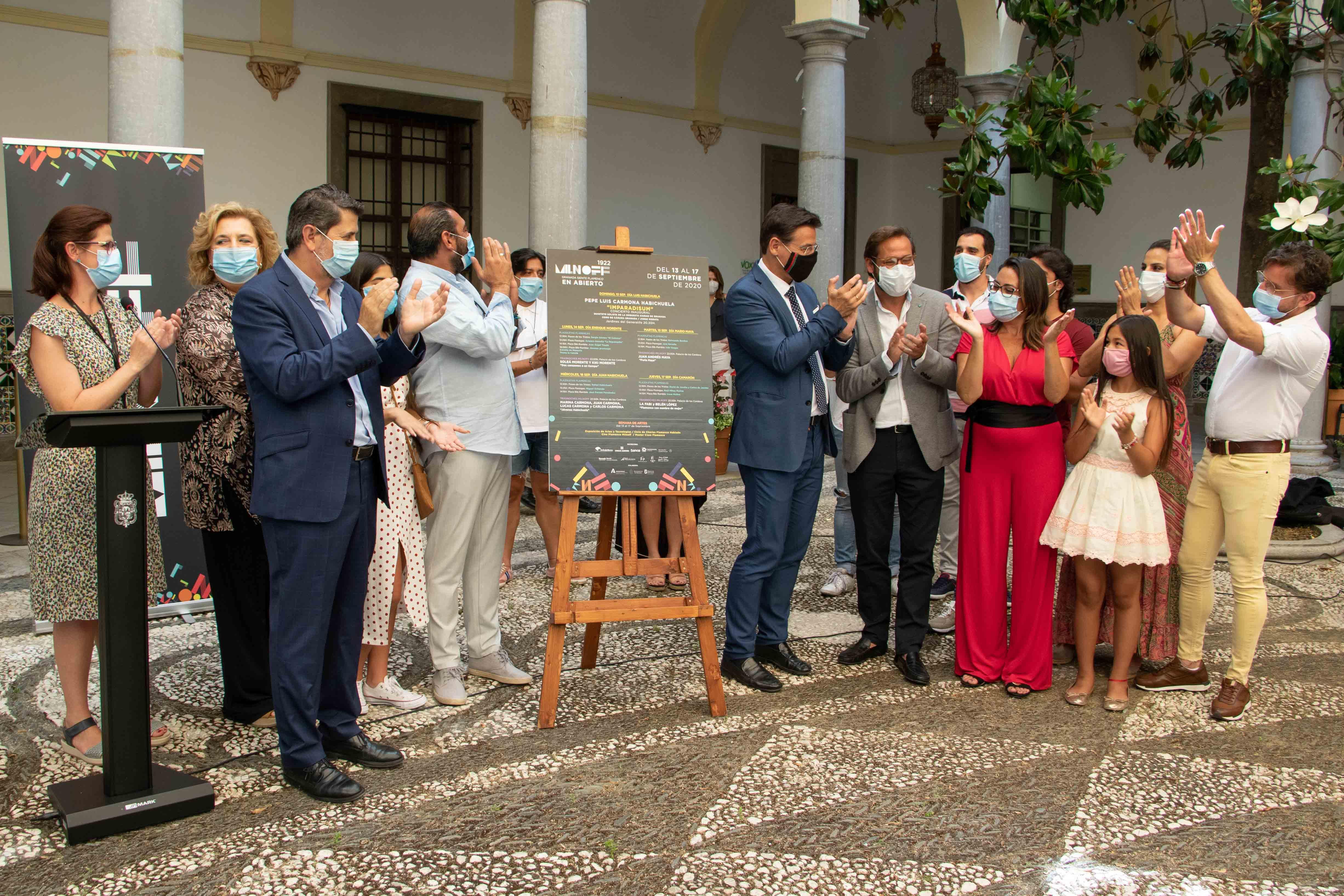 El Festival Milnoff llevará a las plazas de Granada más de 20 espectáculos flamencos
