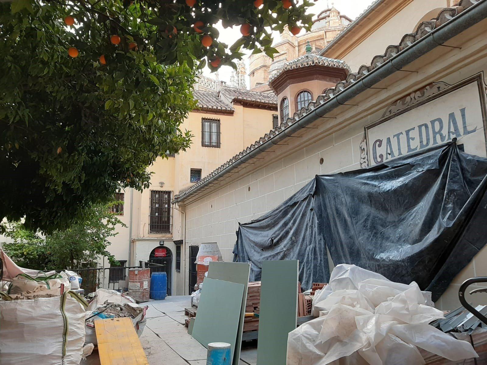 Se reanudan los trabajos de rehabilitación del archivo de la catedral