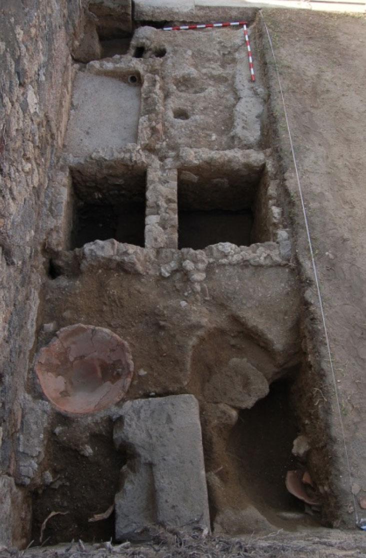 Arqueólogos españoles hallan en Pompeya una de las perfumerías mejor conservadas de época romana