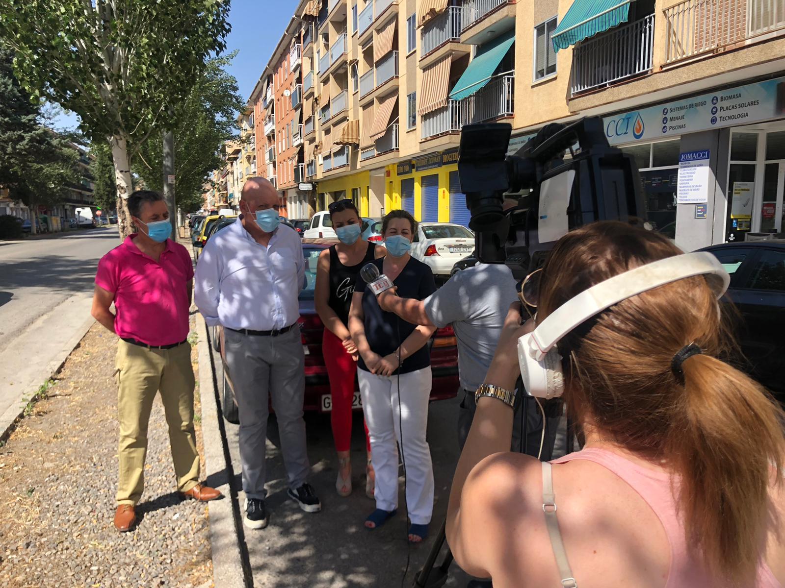 El PSOE de Guadix lamenta que la Junta reduzca a la mitad la inversión para la remodelación de la Avenida de Buenos Aires