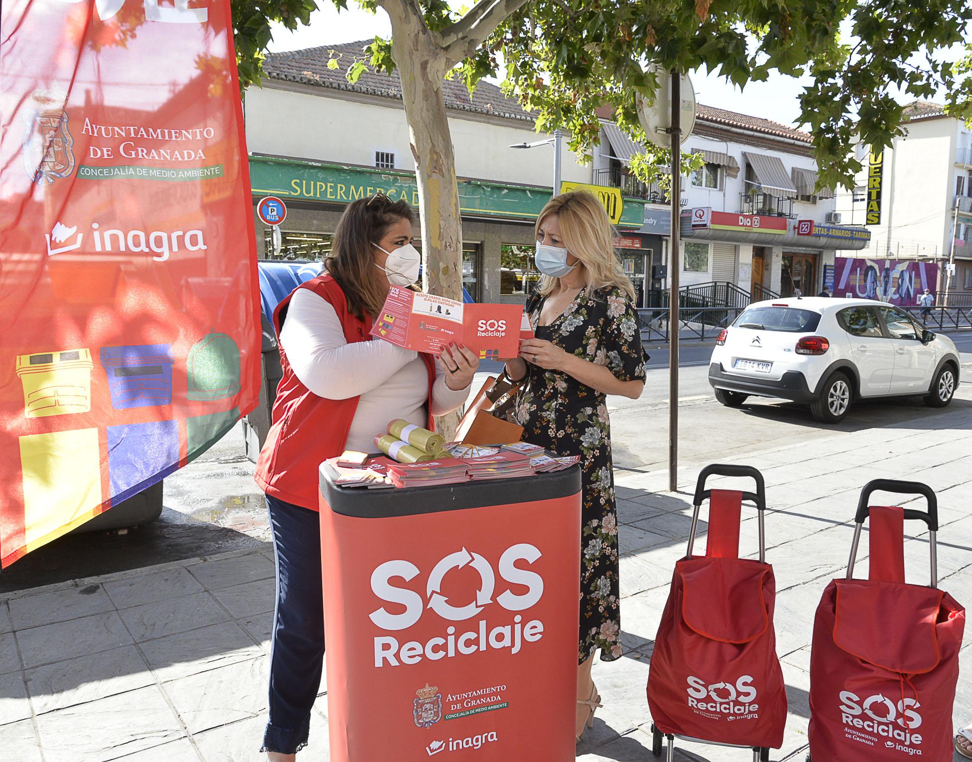 El Ayuntamiento inicia un programa con educadores ambientales para aumentar el reciclaje